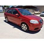 6/2009 Holden Barina  TK MY09 3d Hatchback Red 1.6L
