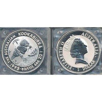 Australia Kookaburra One Ounce Silver Coin
