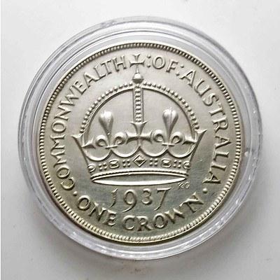 Australia Crown 1937