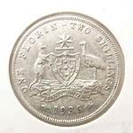 Australia Silver Florin 1936