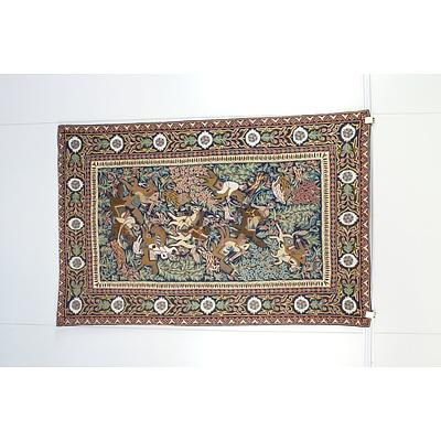 Crewel Work Wool Hanging Kashmir India