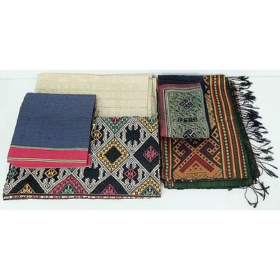 Five South East Asian Textiles