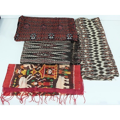 Four South East Asian Textiles