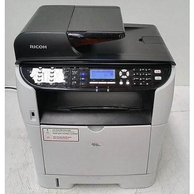 Ricoh Aficio SP 3510SF Black & White Multi-Function Printer w/ Additional Toner Cartridges