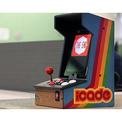iCade Arcade Bluetooth Cabinet for Ipad.