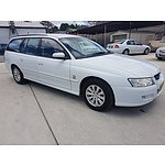 3/2005 Holden Commodore Acclaim VZ 4d Wagon White 3.6L