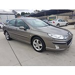6/2007 Peugeot 407 ST HDi Executive 4d Sedan Beige 2.0L
