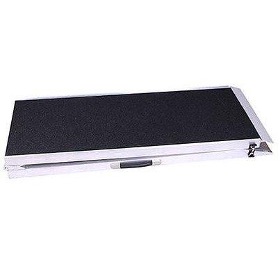 Large 180x40cm Aluminum Portable Folding Pet Dog Ramp Step