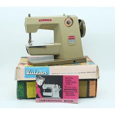 Vulcan Countess Child's Hand Operated Sewing Machine
