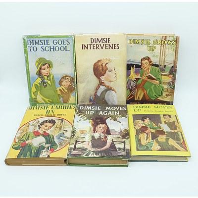 Nine Vintage Dimsie Books