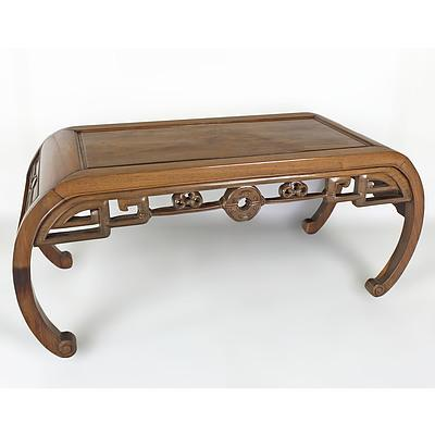 Chinese Rosewood Kang Table, Republic Period, Early to Mid 20th Century