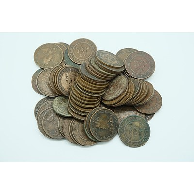 Seventy Commonwealth of Australia George V to George VI Half Pennies