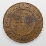 Scarce Commonwealth of Australia 1923 Half Penny