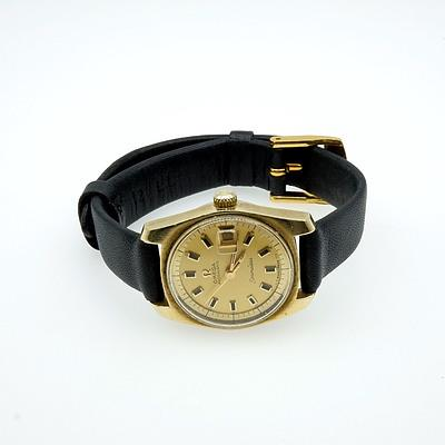 Ladies Omega Auto Seamaster With Date