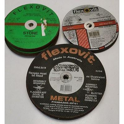 Flexovit Cutting Discs - Lot of 34