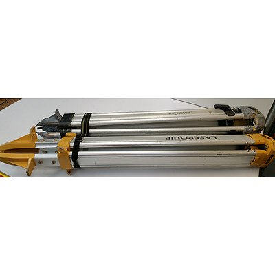 Laserquip Tripods - Lot of 2