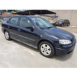 12/2002 Holden Astra CD TS 4d Sedan Blue 1.8L