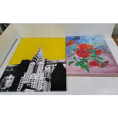 Lot of Five Artworks