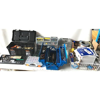 Large Assortment of Tools and Hardware