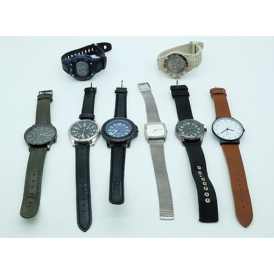Group of Watches Including Penshoppe,Sempre and More