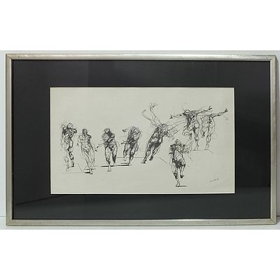 Claude Weisbuch Human Movements Print