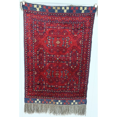 Anatolian Hand Knotted Wool Pile Rug
