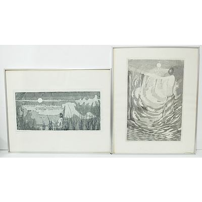 Two D.Delessert Limited Edition Etchings