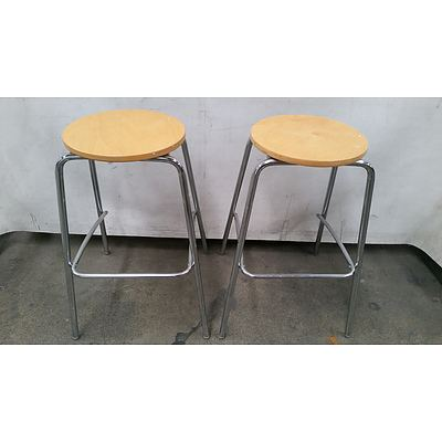 Bar Stools - Lot of Two