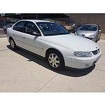 8/2002 Holden Commodore Acclaim VXII 4d Sedan White 3.8L