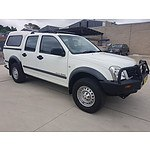 5/2006 Holden Rodeo LX (4x4) RA MY06 UPGRADE Crew Cab P/up White 3.0L