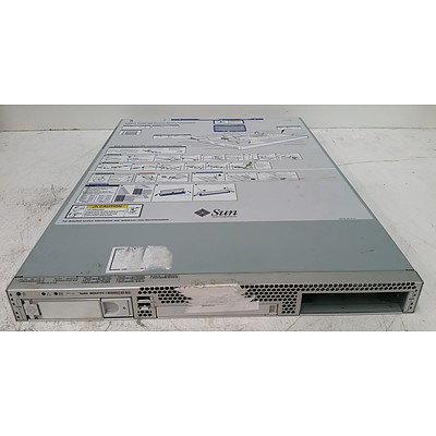 Sun Microsystem SunFire X2200 M2 Dual Quad-Core AMD Opteron (2356) 2.30GHz 1 RU Server