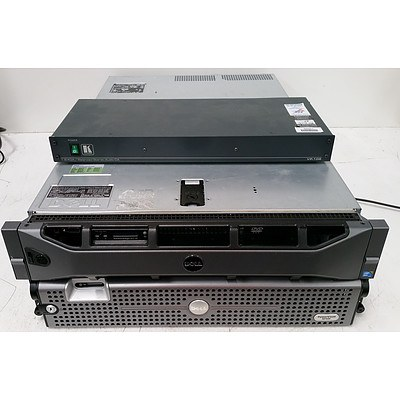 Dell PowerVault NF500 & Dell PowerEdge R710 Dual Xeon Servers