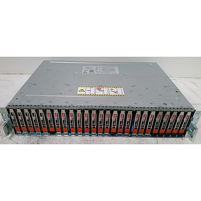 EMC2 SAE 25-Bay Hard Drive Array with 12.5TB of Total Storage