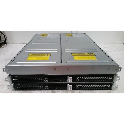 EMC2 100-520-665 Celeron (440) 2.00GHz 1RU Control Station Servers and EMC2 Standby Power Supply