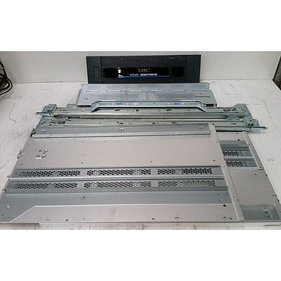 Bulk Lot of Assorted Server Rack Rails & Parts