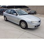 10/2003 Holden Berlina  VYII 4d Sedan Silver 3.8L