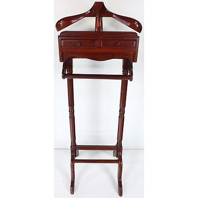 Classic Mahogany Collection Valet Stand