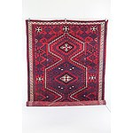 Persian Hali Hand Knotted Wool Pile Carpet