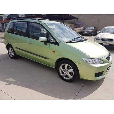 3/2003 Mazda Premacy   5d Hatchback Green 2.0L