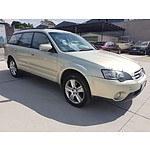 2/2005 Subaru Outback 3.0R MY05 4d Wagon Beige 3.0L