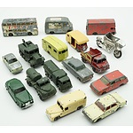 Group of Sixteen English Lesney Model Cars