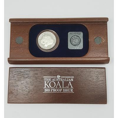 The Australian Koala First Proof Issue 1/2 Ounce Platinum Coin