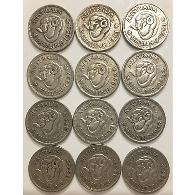 Australian Pre-Decimal Silver Coins