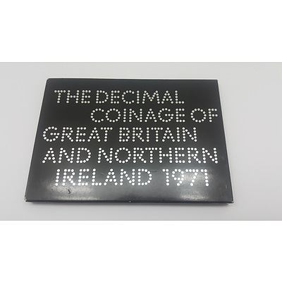 1971 Proof Coin Set of the Coinage of Great Britain and Northern Ireland
