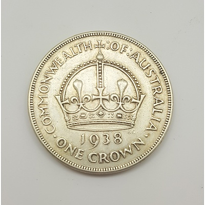 Scarce 1938 Commonwealth of Australia Crown