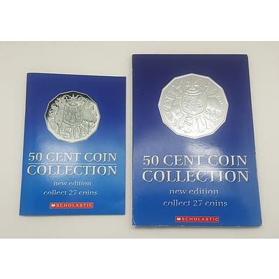 Australian Fifty Cent Collector Folder