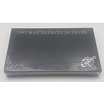 1993 Masterpieces in Silver Coin Collection - The Explorers