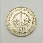 Scarce 1938 Commonwealth of Australia Crown
