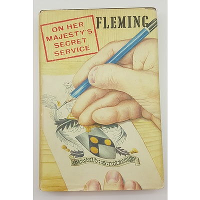 FIRST EDITION James Bond - On Her Majesty's Secrets Service by Ian Fleming