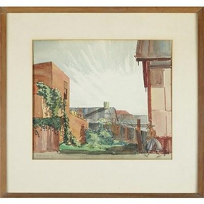 Robyn Anne Mountcastle (1936-) Watercolour